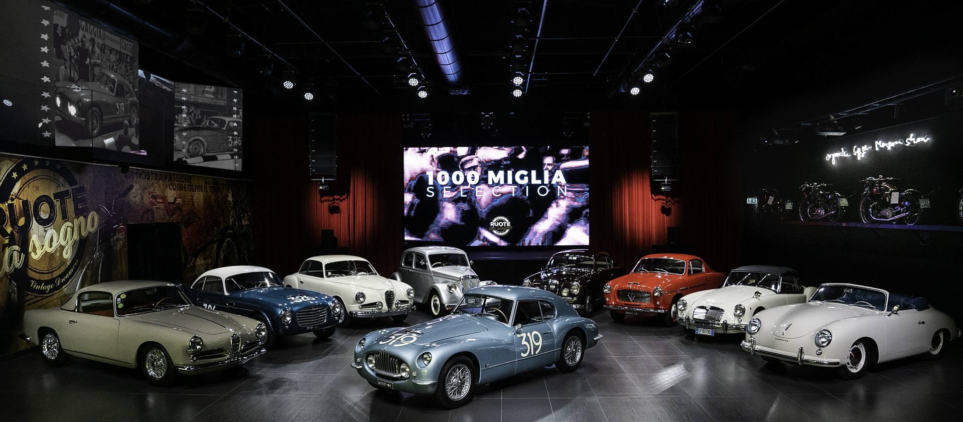 1000miglia: un video per mostrare la collezione di auto da investimento a Ruote da Sogno
