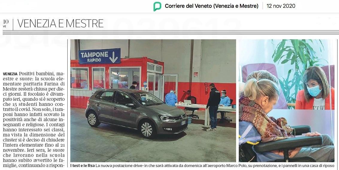 Corriere della Sera - Campagna ParkinGO Group
